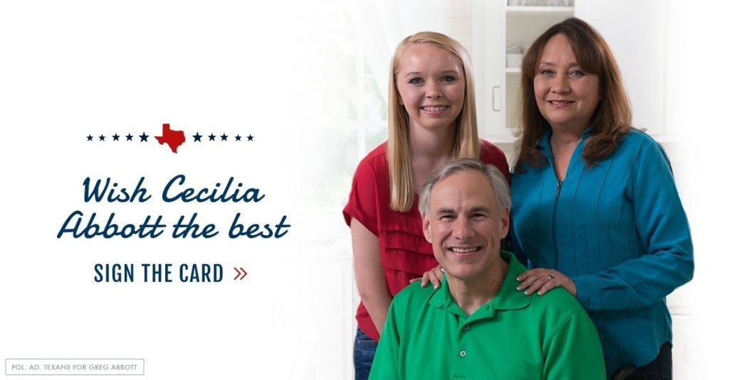 Sign To Send Your Wishes To Cecilia Abbott First Hispanic First Lady In Texas History Greg
