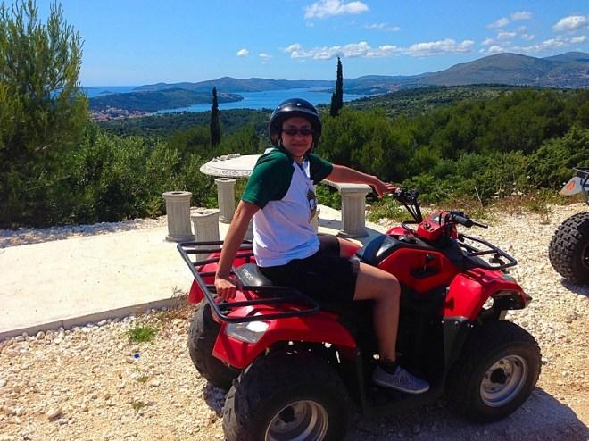 Quad biking on Ciovo Island