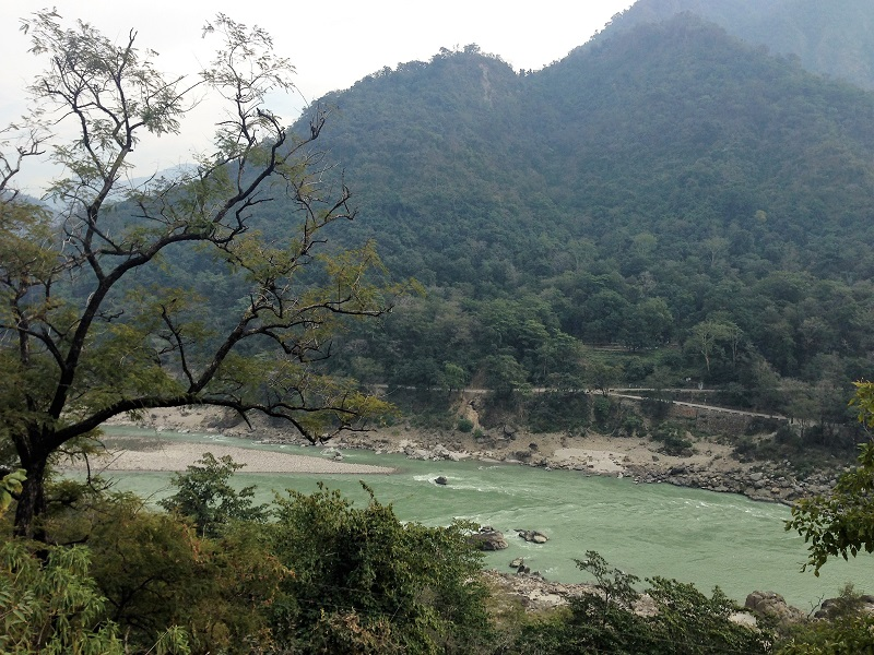 View of the Ganges, Rishikesh