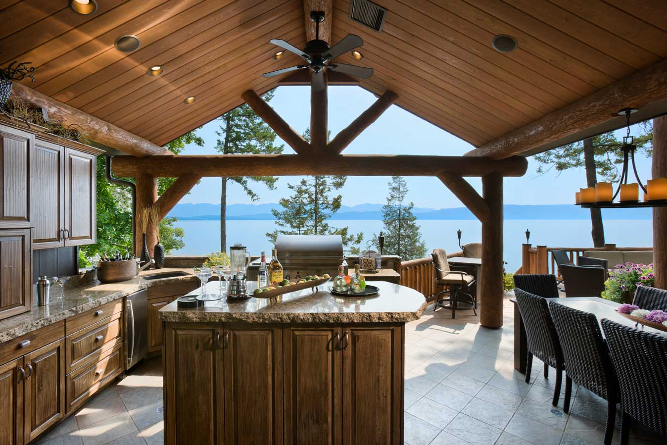 Flathead Lake Builders Retreat Project
