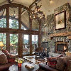 Rustic Elegant Living Room Designs Simple Ceiling For Philippines Whitefish Montana Builders Custom Home Elegance Great