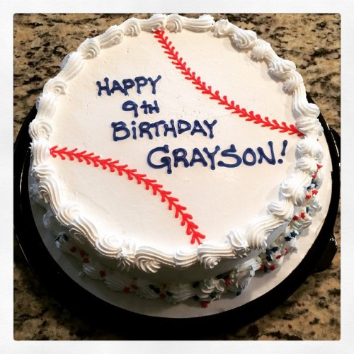 Happy 9th Birthday Grayson