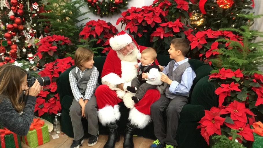 Boys With Santa 2014 (1)