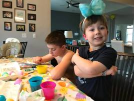 Coloring Easter Eggs (2)