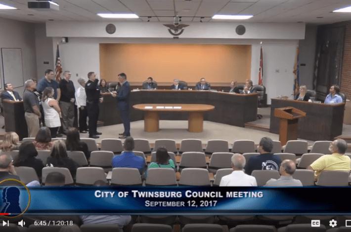 Twinsburg Council Meeting - September 12 2107