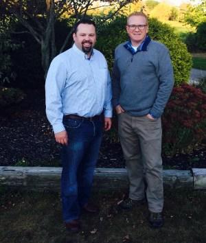 Greg Bellan and Scott Barr