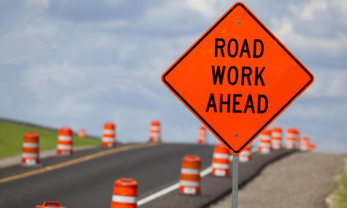 Construction Update - Road Work Ahead