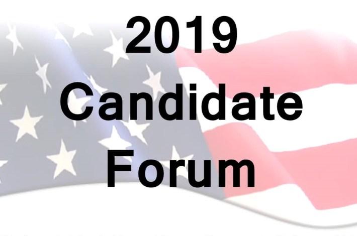 2019 Candidates Forum