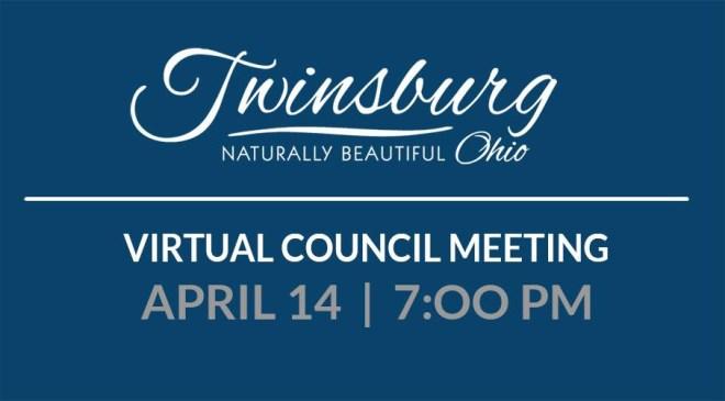 Virtual Council Meeting April 14th 2020