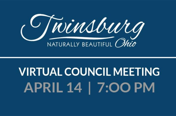 Virtual Council Meeting April 14th 2020