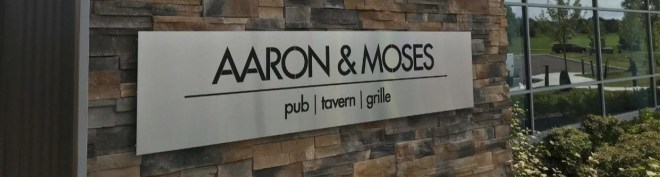 Aaron & Moses Banner