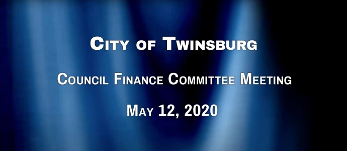 City of Twinsburg Finance Committee Meeting - May 26, 2020 690X300