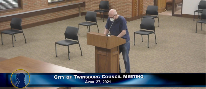 City of Twinsburg Council Meeting - April 27, 2021 Feature