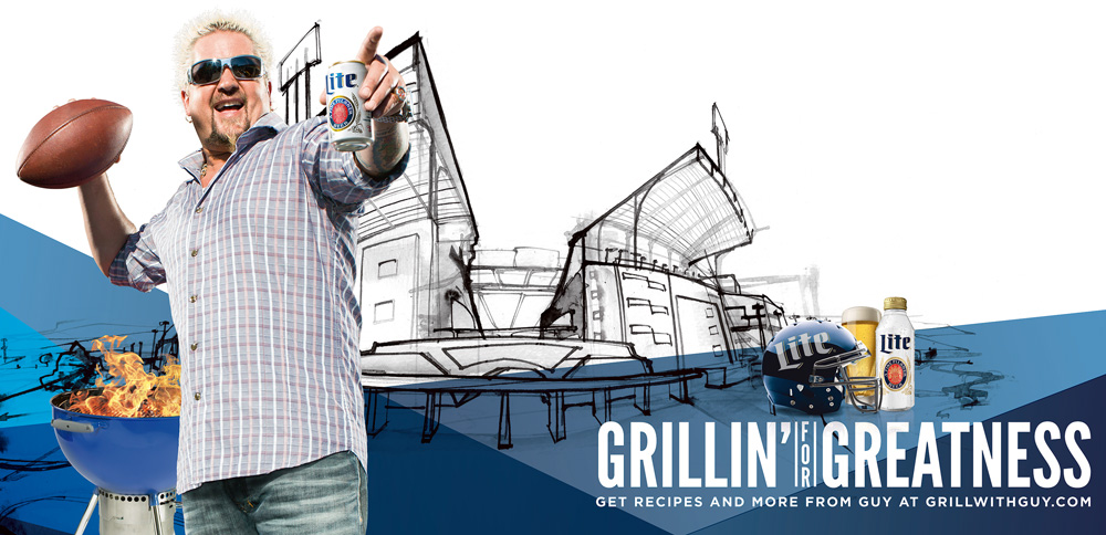 Greg Betza tailgate stadium illustration