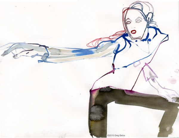 Greg Betza fashion illustration