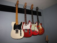 Slatwall Guitar Hanging System