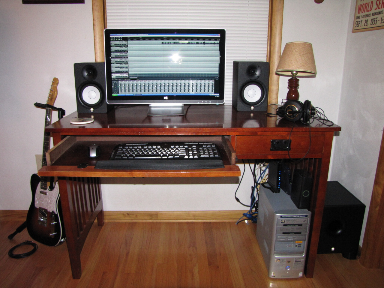 hight resolution of home studio layout