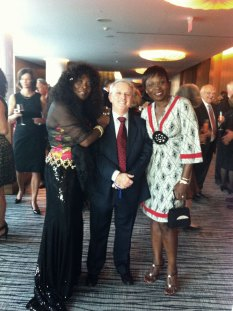 "At Canadian Legal Conference with my ""sisters in Law"" from Nigeria and Canada."