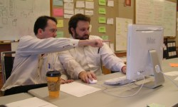 Did agile ruin your life? These pair programmers do no seem that concerned.