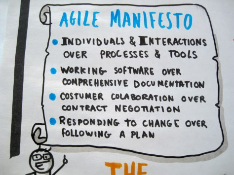 The tenents of the agile manifesto can help us trust agile software development.