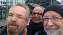 Just met with Greger Wikstrand, Woody Zuill and Kishen Panday