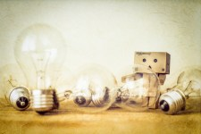 Ideas as lightbulbs. How much are they worth?
