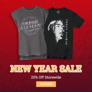 Gregg Allman Official Merchandise