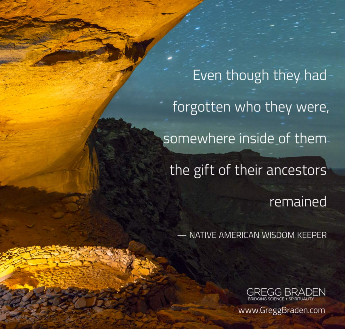 Even though they they had forgotten who they were, somewhere inside of them the gift of their ancestors remained — Native American Wisdom Keeper #quotes #inspiration #spirituality
