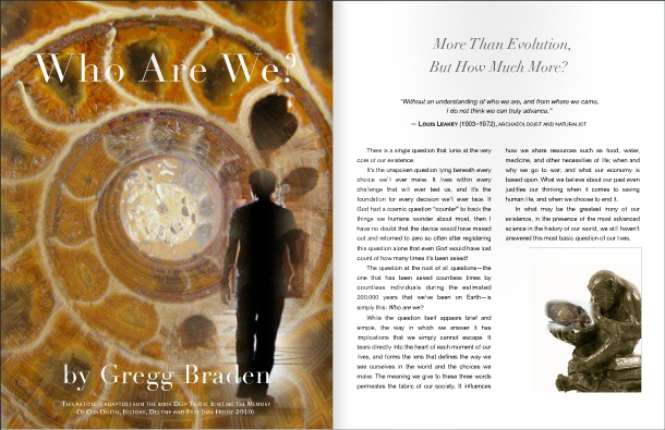 Gregg Braden - Featured in Science to Sage Magazine March 2015 Issue