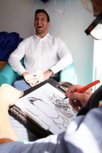 Sam Warburton Caricature