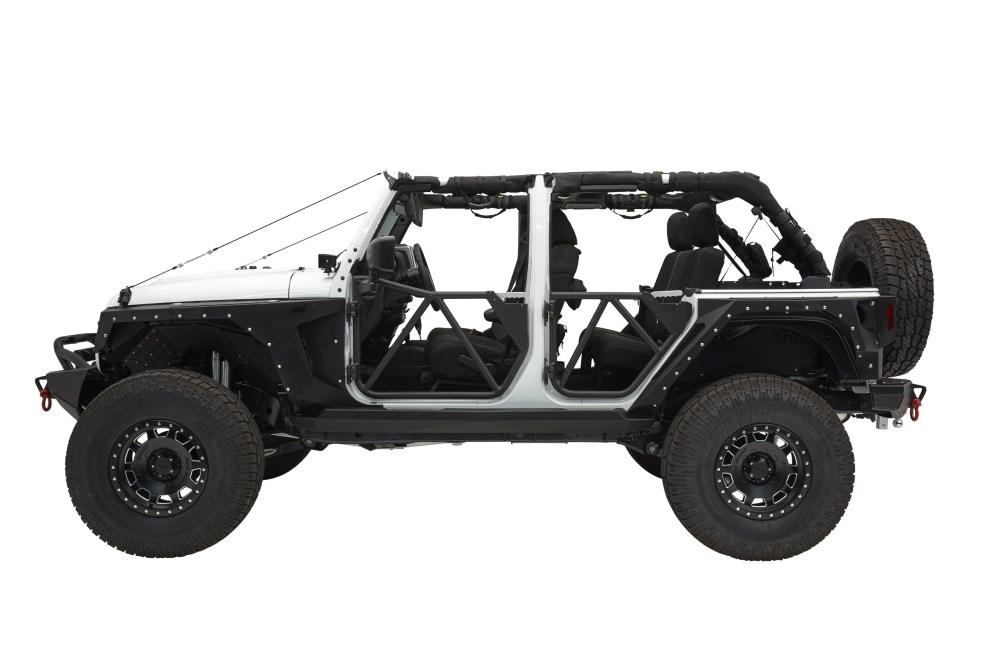 medium resolution of jeep wrangler jk 4d tubular rear door src gen2 smittybilt jpg
