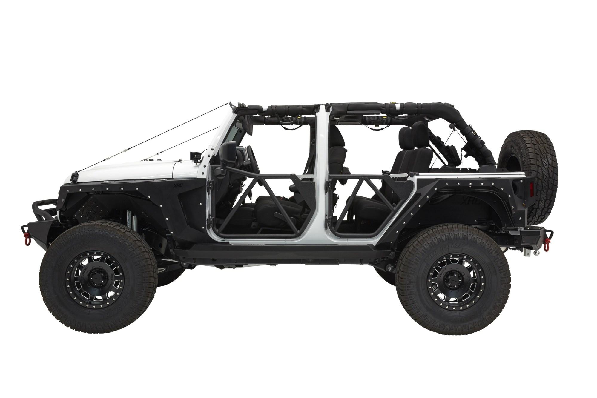 hight resolution of jeep wrangler jk 4d tubular rear door src gen2 smittybilt jpg