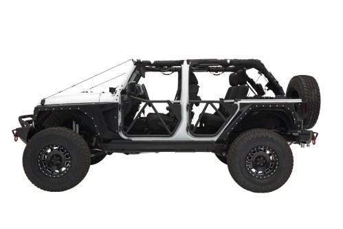 small resolution of jeep wrangler jk 4d tubular rear door src gen2 smittybilt jpg