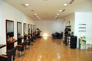 salón de peluquería Gregorio Porras en Córdoba