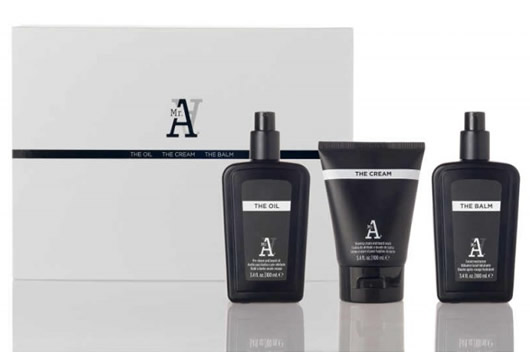 pack afeitado icon Mr. A the shave