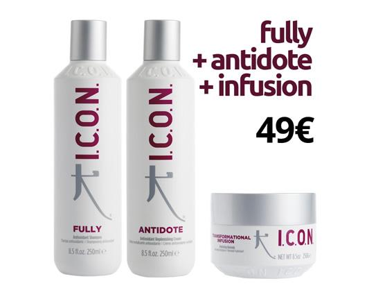 antioxidantes para cabello ICON cordoba