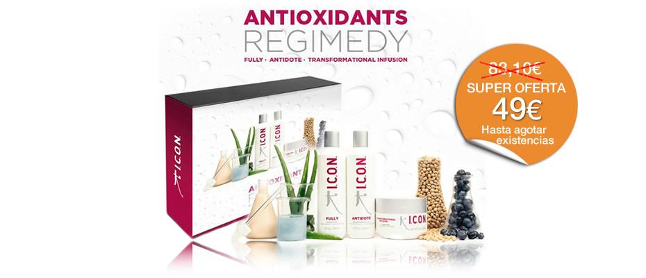 Antioxidantes para cabello REGIMEDY