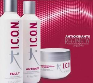 Icon antioxidants Regimedy para el cabello
