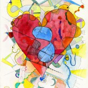 Infinite Love drawing by Gregory beylerian