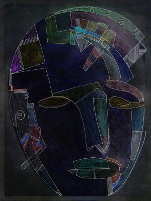 stone head by gregory beylerian