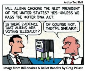 José Crow: Arizona Fights Aliens (aka Democrats)