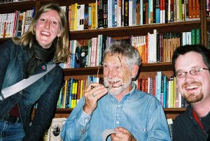 Katie and me with Gary Snyder