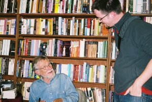 Me and Gary Snyder, City Lights Books, October 24, 2004