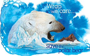 Polar Bear condom package