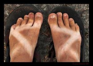 Muddy BWCAW feet