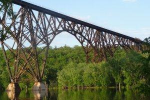 The Soo Line High Bridge over the St. Croix River