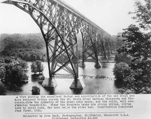 The High Bridge shortly after it was built in 1911.