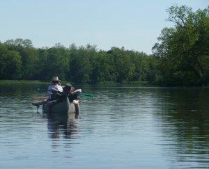 Drifting downstream
