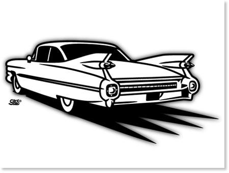 Car Cadillac Eldorado Coloring Pages