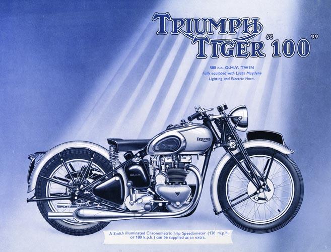 A History Of Triumph S Tiger 100 Greg Williams